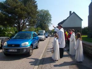 Fahrzeugsegnung in Steckenborn