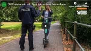 Tipps zum sicheren Gebrauch von E-Scootern